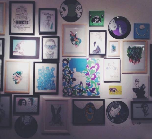 Vernissage | Mlle Chat-chat x Samnuts x Mira Stella x Hermann x Elke Foltz | Atelier Jack